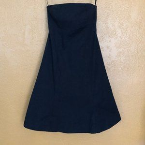 Gap Stretch Strapless Flare Dress